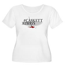 #CASKETTALWAY Women's Plus Size Scoop Neck T-Shirt