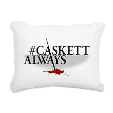 #CASKETTALWAYS Rectangular Canvas Pillow