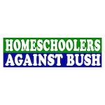 Homeschoolers Against Bush (sticker)