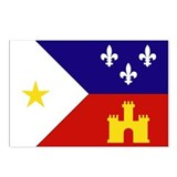 Acadian Flag Postcards (Package of 8)