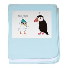 What Mask? Baby Blanket
