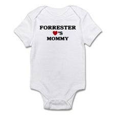 Forrester loves mommy Infant Bodysuit