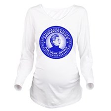 Unique Hillary Long Sleeve Maternity T-Shirt