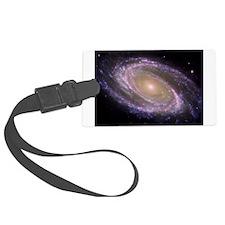 Spiral galaxy NASA image Luggage Tag
