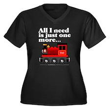 All I need... (White Type) Plus Size T-Shirt