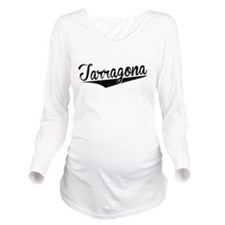 Tarragona, Retro, Long Sleeve Maternity T-Shirt