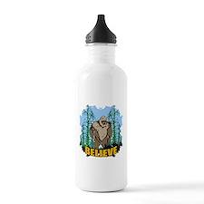 Believe in Bigfoot 3 Water Bottle