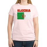Algerian distressed flag T-Shirt
