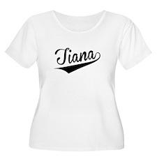 Tiana, Retro, Plus Size T-Shirt