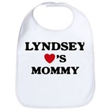 Lyndsey loves mommy Bib