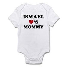 Ismael loves mommy Infant Bodysuit