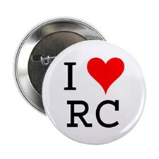 "I Love RC 2.25"" Button (100 pack)"