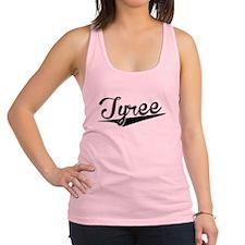Tyree, Retro, Racerback Tank Top