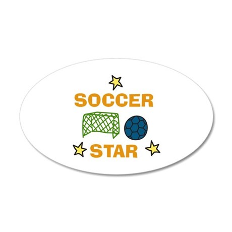 SOCCER STAR Wall Decal