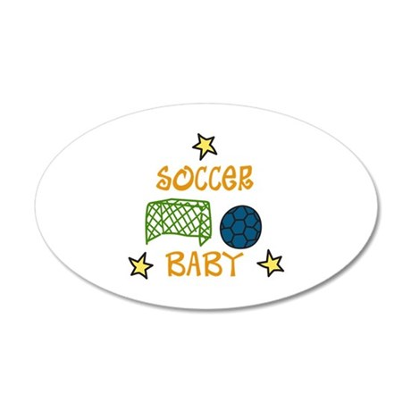 SOCCER BABY Wall Decal