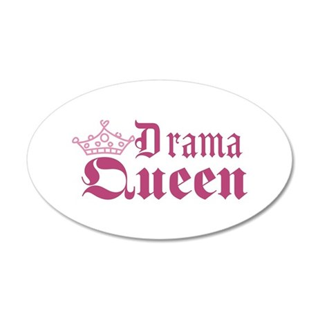 Drama Queen Wall Decal