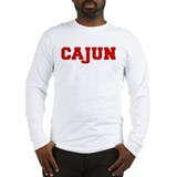 Cajun (College Type) Long Sleeve T-Shirt