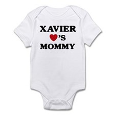 Xavier loves mommy Onesie
