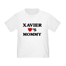 Xavier loves mommy T