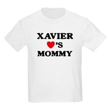 Xavier loves mommy T-Shirt