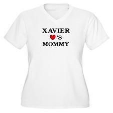 Xavier loves mommy T-Shirt