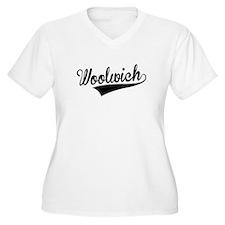 Woolwich, Retro, Plus Size T-Shirt
