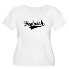 Woolwich, Retro, Plus Size T-Shirt
