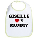 Giselle loves mommy Bib