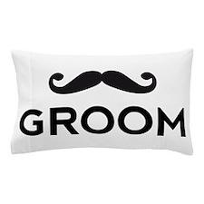 Groom mustache Pillow Case