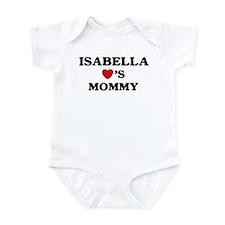 Isabella loves mommy Infant Bodysuit