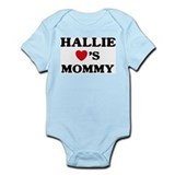 Hallie loves mommy Onesie