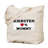 Kiersten loves mommy Tote Bag