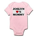 Joslyn loves mommy Infant Bodysuit
