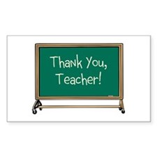 Thank a Teacher Decal