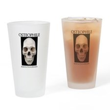 OSTEOPHILE: for bone lovers Drinking Glass