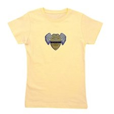 Fallen Police Officer Badge Girl's Tee