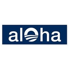 Unique Aloha Bumper Sticker