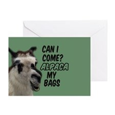 Funny Alpaca Greeting Cards (Pk of 10)