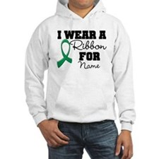 Custom Ribbon Liver Cancer Hoodie