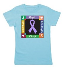 General Cancer Courage Girl's Tee