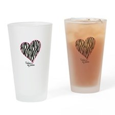 Fashion Is My Passion Drinking Glass