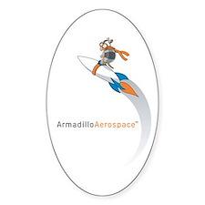 Armadillo Aerospace Oval Decal