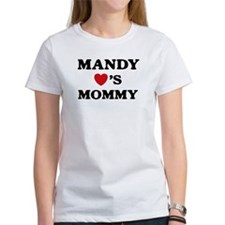 Mandy loves mommy Tee