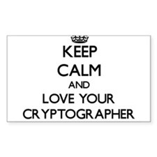 Keep Calm and Love your Cryptographer Decal