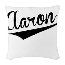 Aaron, Retro, Woven Throw Pillow