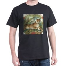 Vintage Tiger Picture T-Shirt