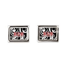 Bdb Bw Rectangular Cufflinks
