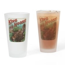 vintage Moose gifts Drinking Glass