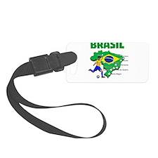 Brasil Futebol 2014 Luggage Tag