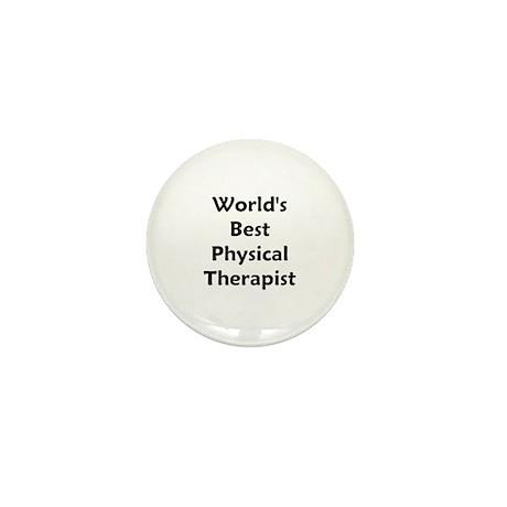 World's Best PT (black) Mini Button
